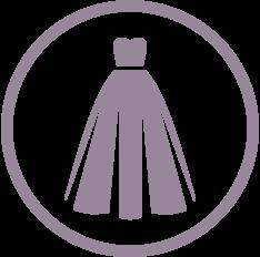 henrys dress logo button