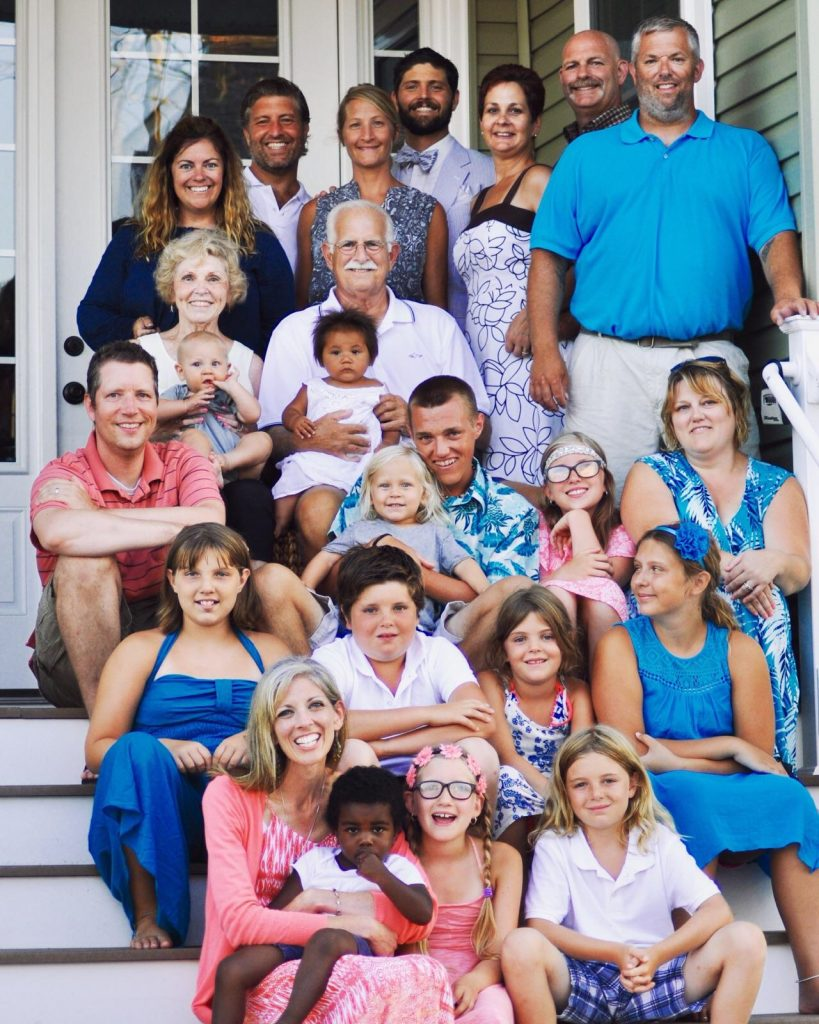 photo of the henry family